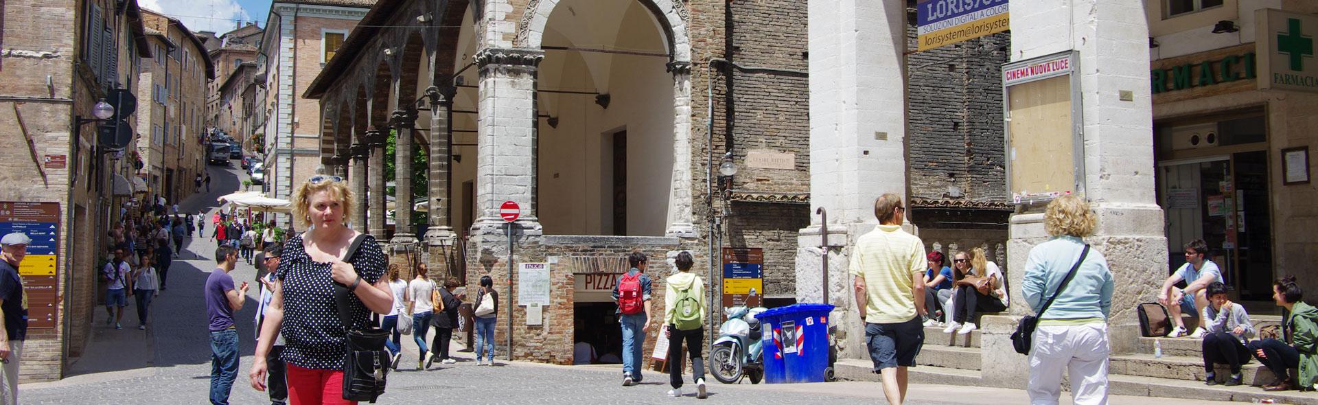 In Urbino flirtet man mit Stil