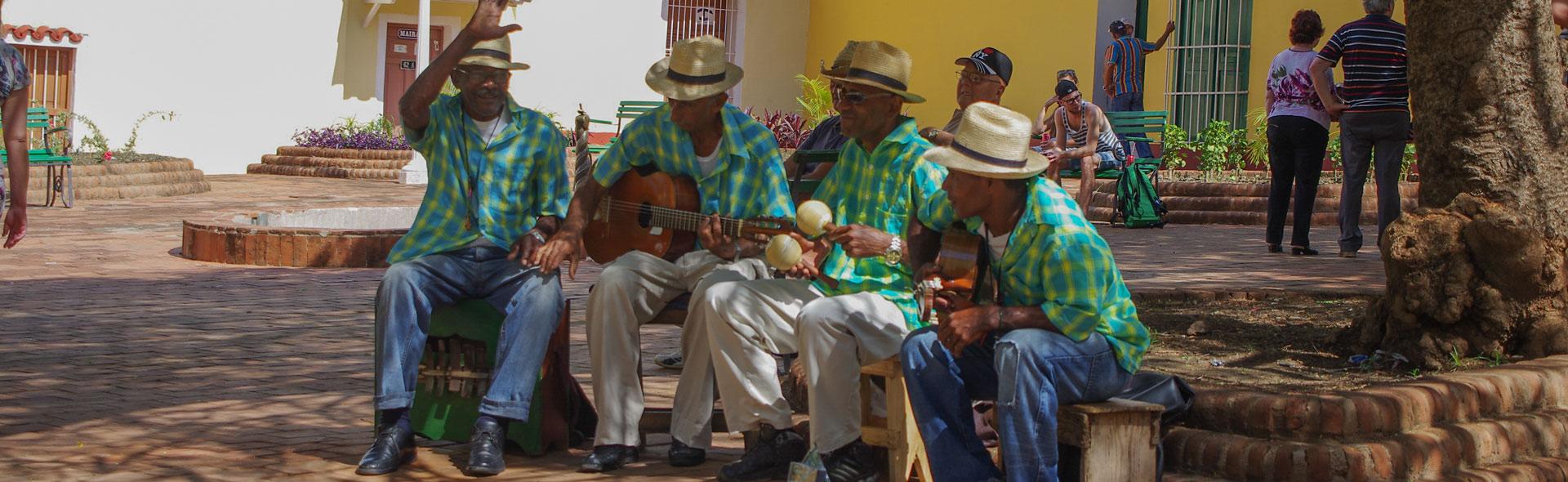 Livemusik in Trinidad