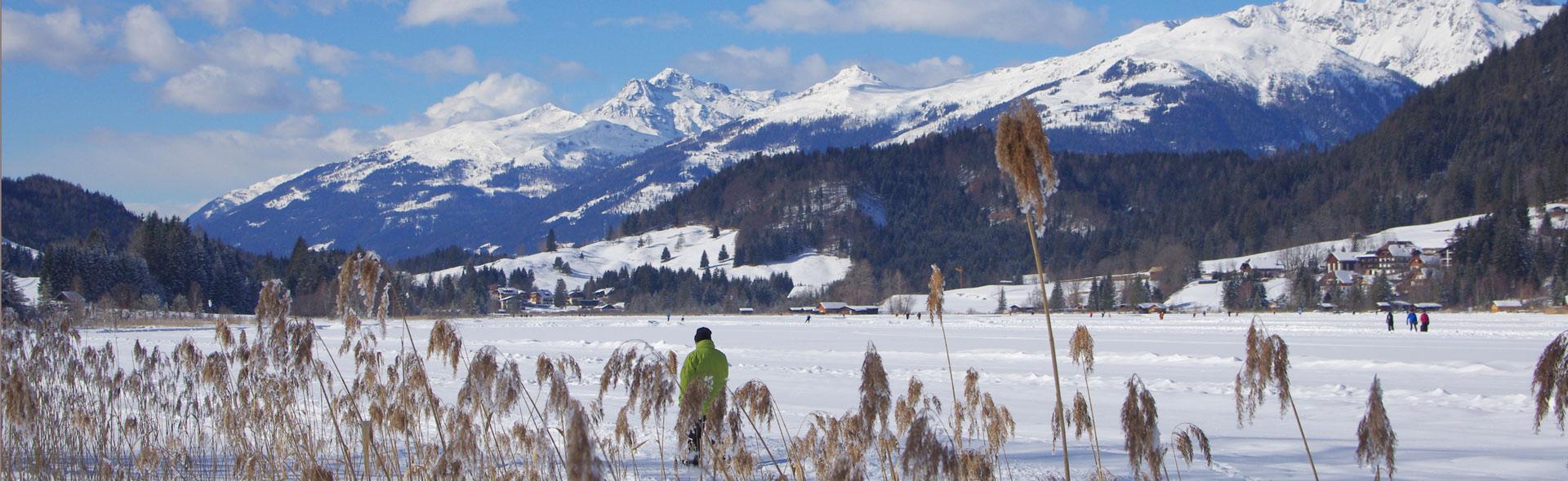 Winter auf dem Weißensee