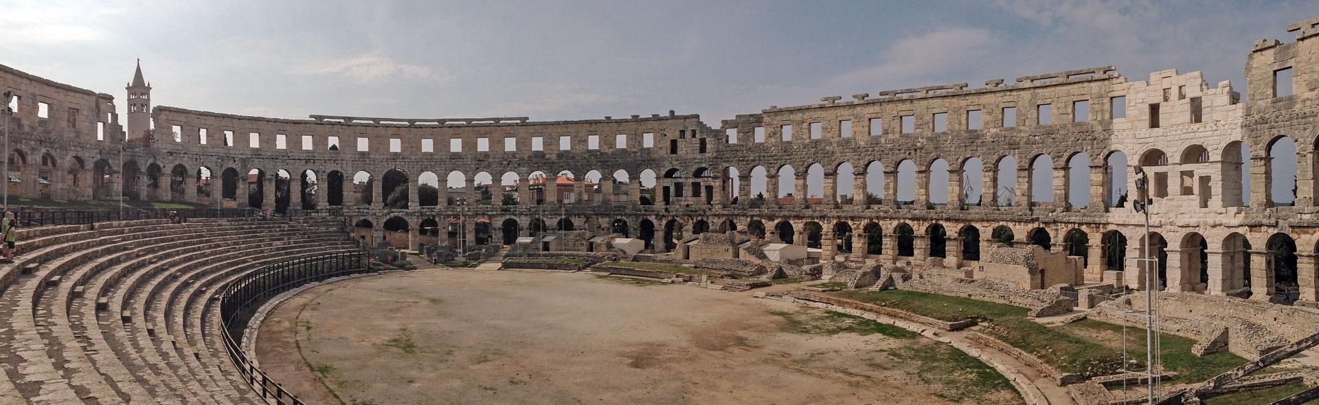 Pula, römische Provinzstadt