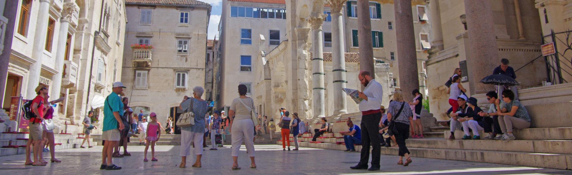 Der Kaiserpalast in Split