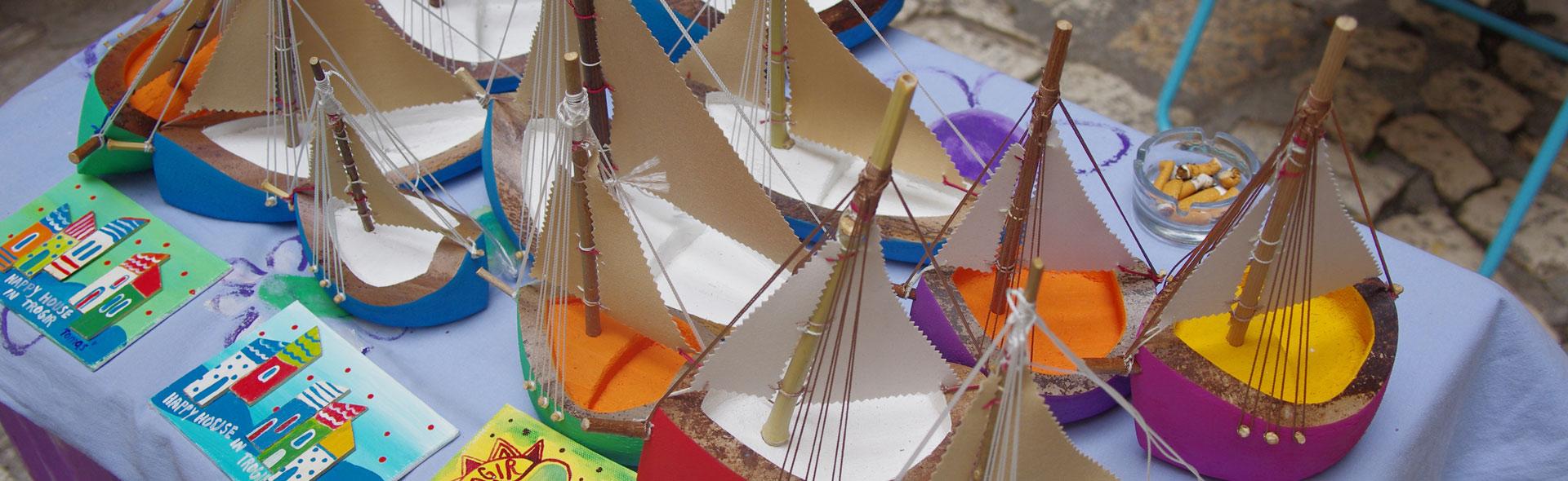 Goga's Palmenschiffchen in Trogir