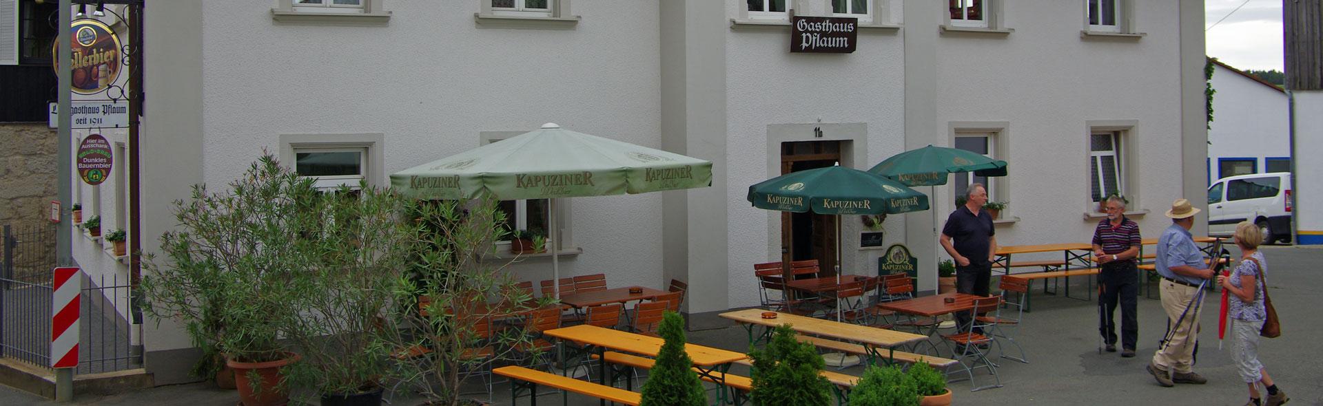 Sonntagskaffee beim Pflaum in Zochenreuth
