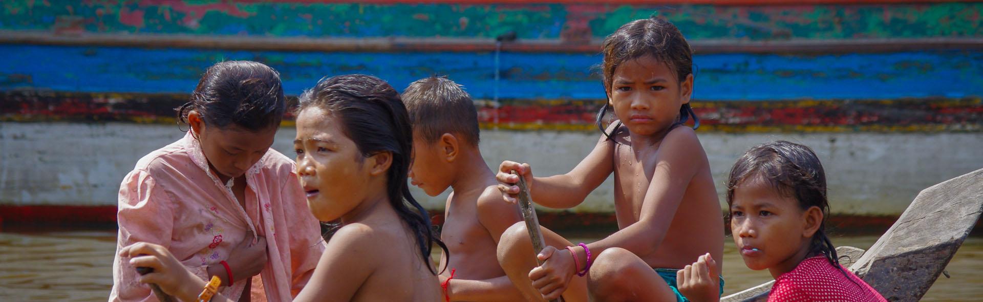 Die Fischer vom Tonle Sap See