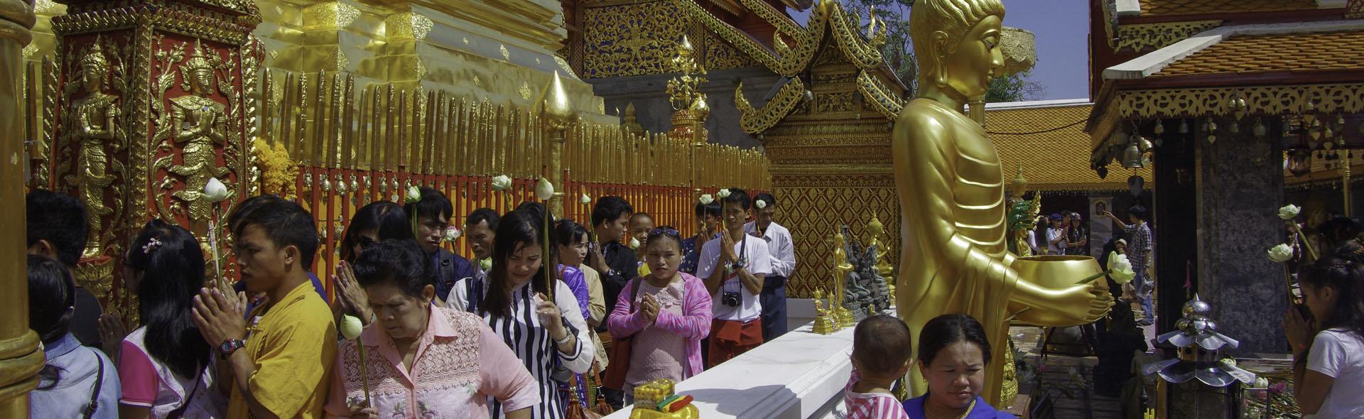Wallfahrt zu Buddha