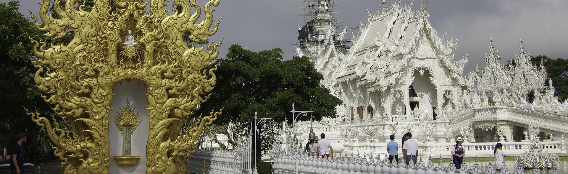 Der schneeweiße Tempel