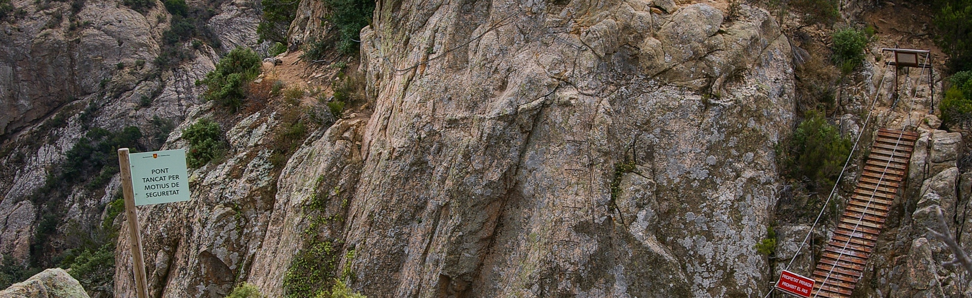 Abenteuer auf den Felsen der Ardenya