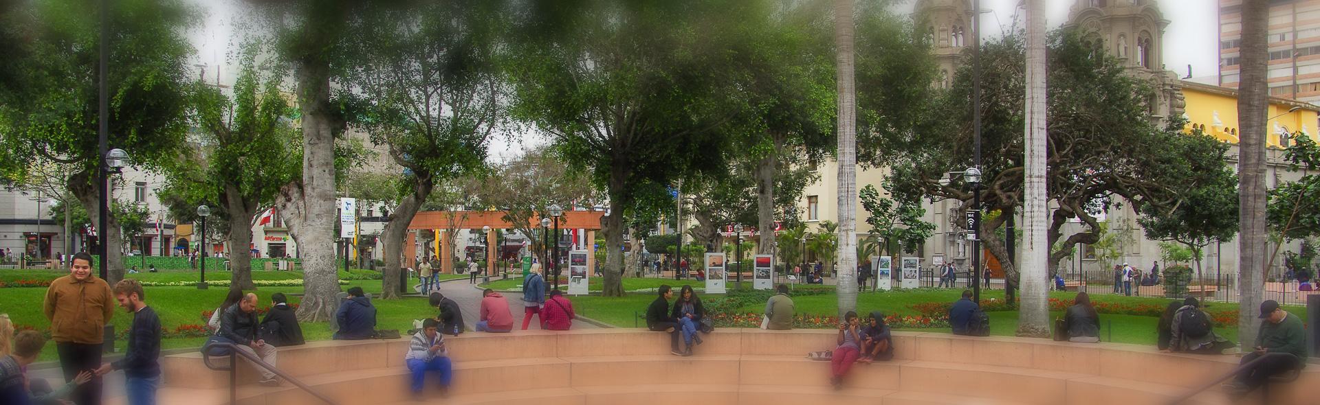 Miraflores, die Gartenstadt Limas