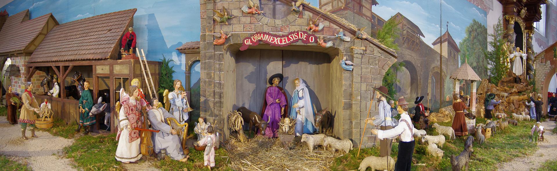 Bamberger Krippen im Advent