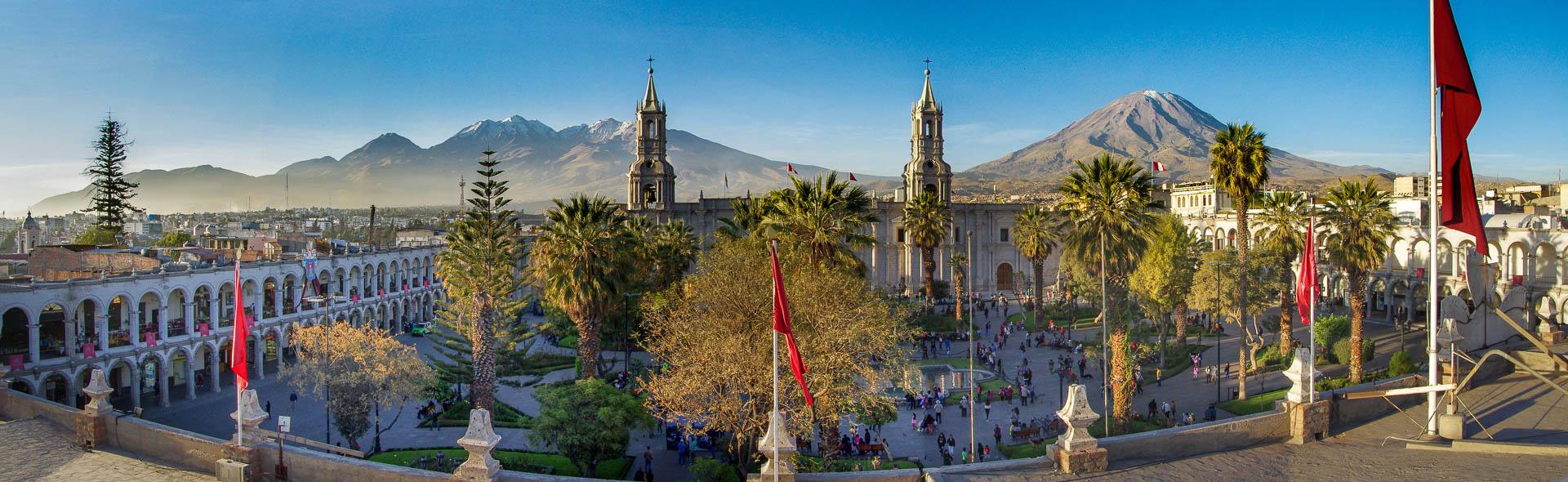 Arequipa, das weiße Rom Südamerikas