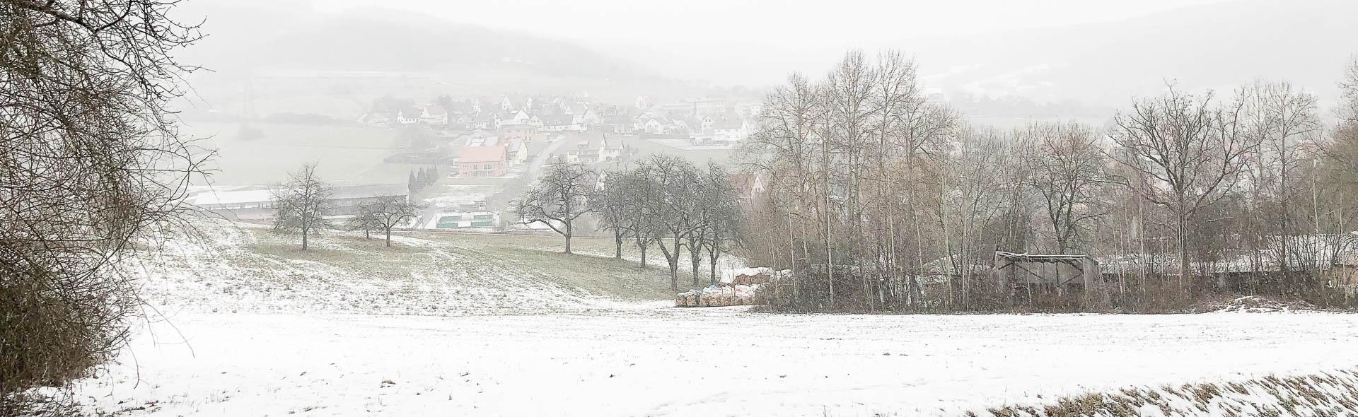Winterwanderung zur Heiligen Anna von Weilersbach