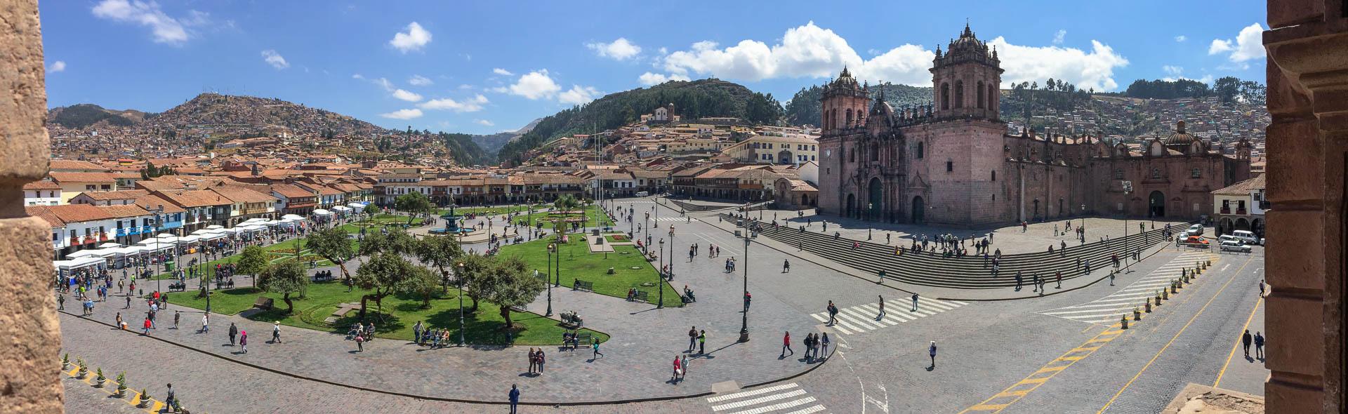 Cusco, das Zentrum der Welt