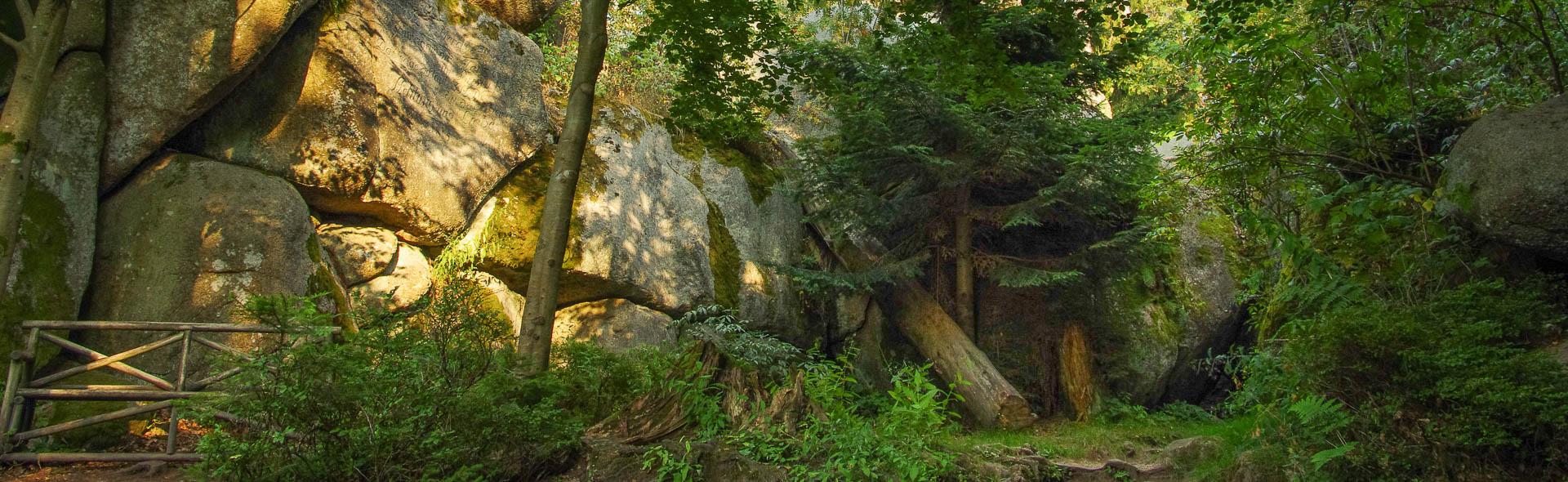 Im Felsenlabyrinth der Luisenburg
