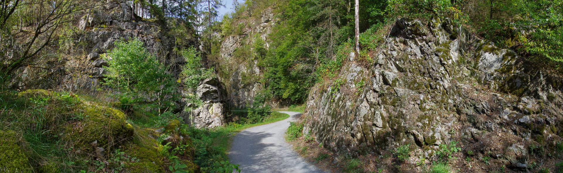 Durch die Steinachklamm zur Waldschänke