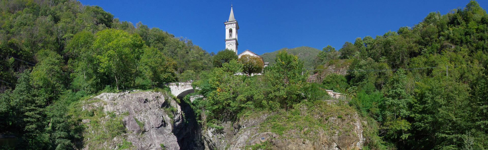 Die Schluchten des Cannobino bei Sant'Anna