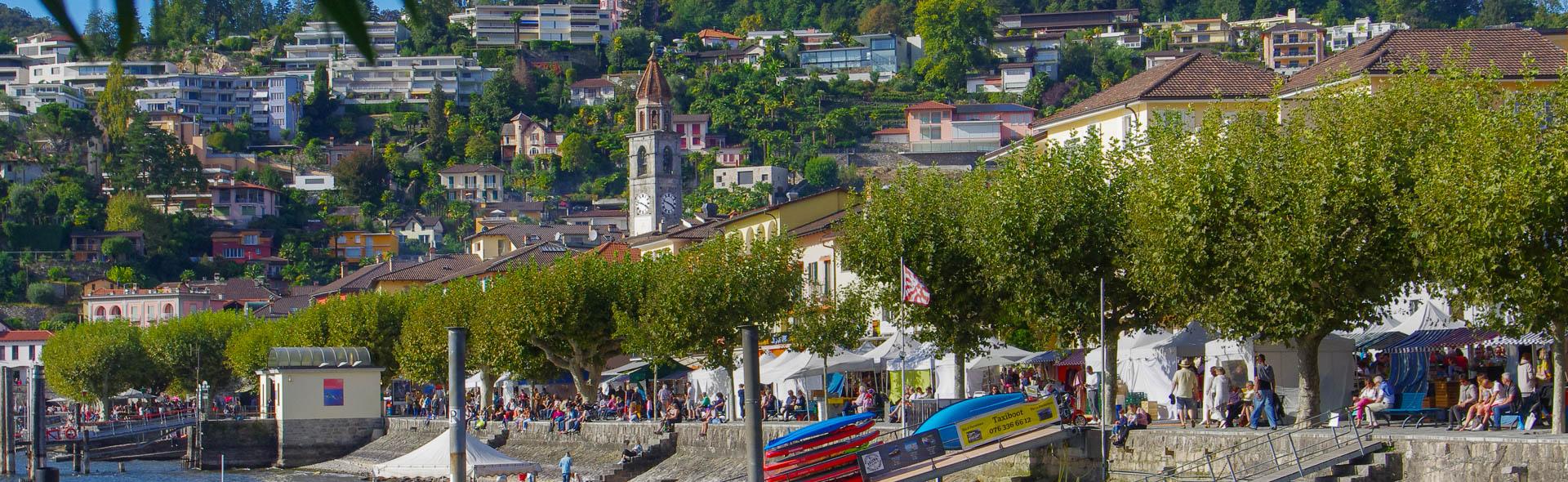 Tessiner Herbstmarkt in Ascona