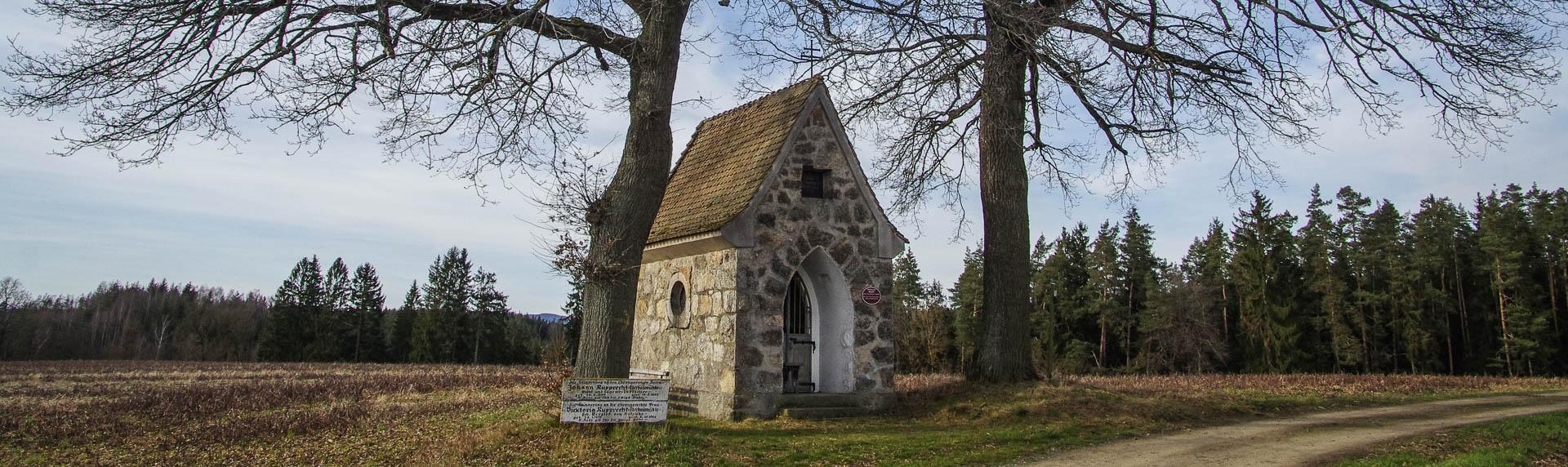 Von Kapellen, Marterl und Feldkreuzen